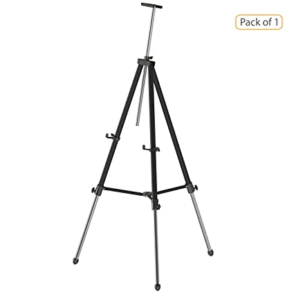 pragati systems portable telescopic easel display stand et 01 board