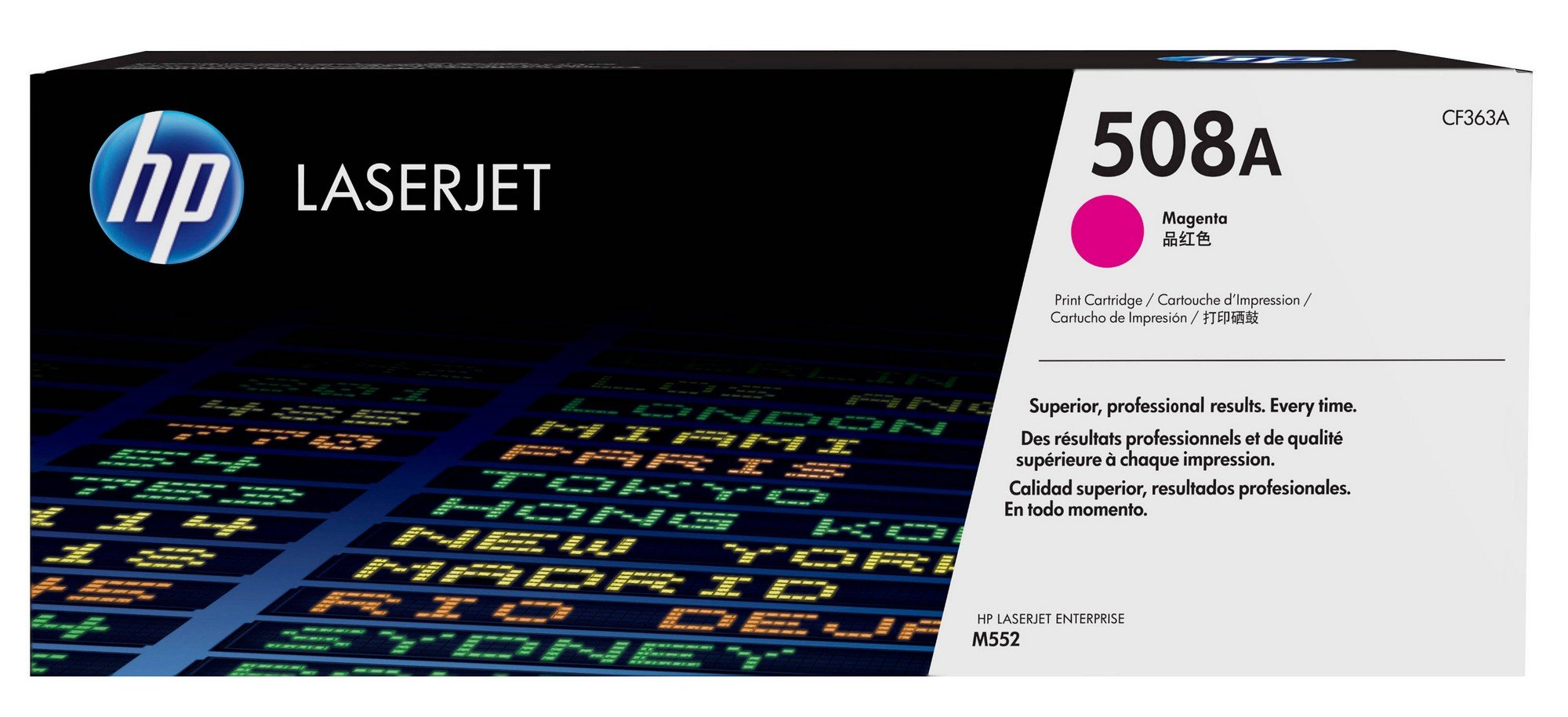 HP 508A (CF363A) Magenta Original Toner Cartridge