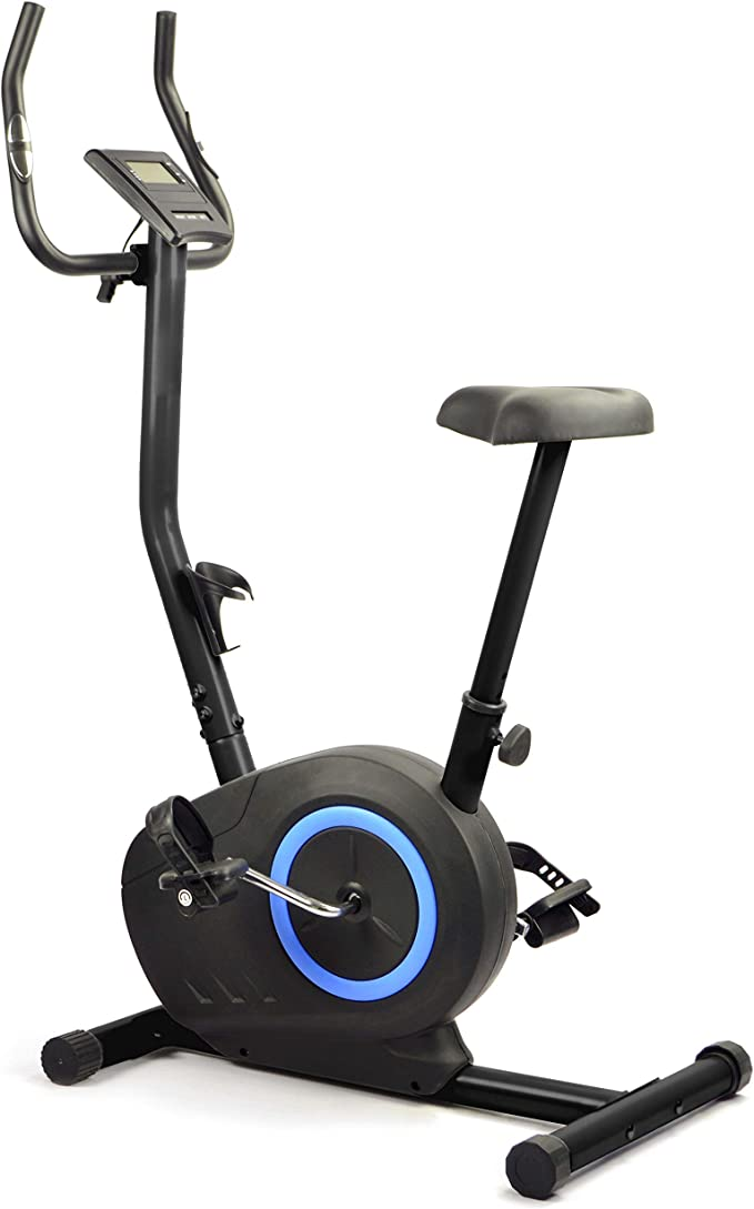 FITLIFE FR001M - Bicicleta estática motorizada, sillín Ajustable ...