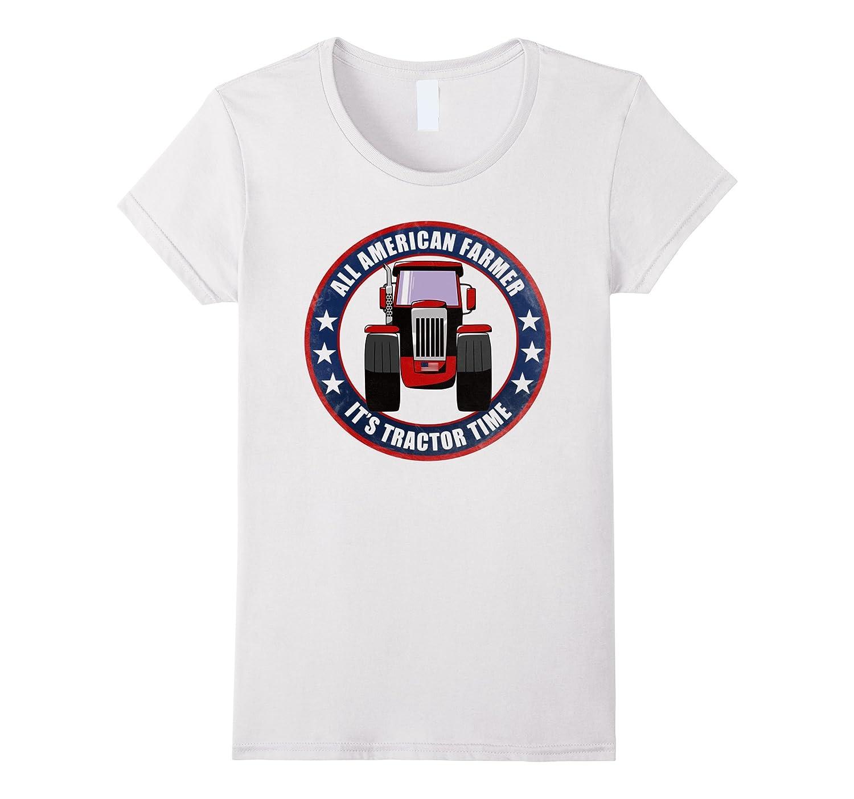 All American Farmer T-shirt – Awesome Funny Farm Tee