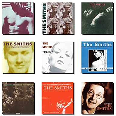 The Smiths Album Cover Collection Poster