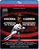 Carmen - Viscera - Afternoon of a Faun - Tchaikovy [Blu-ray] [Import]