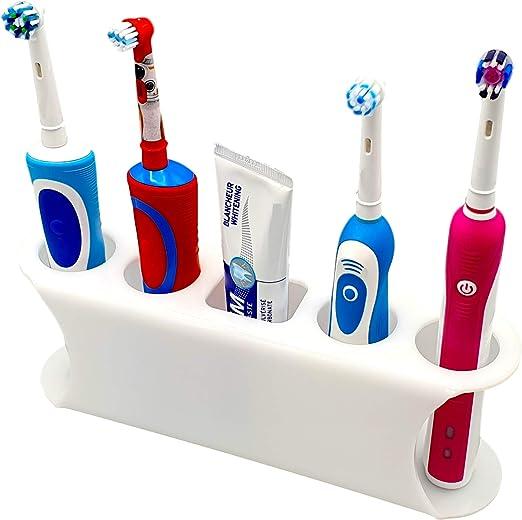 Smartproduct Selbstklebende Zahnburstenhalter Fur Elektrische Zahnburste Model D Amazon De Kuche Haushalt