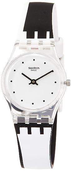 Swatch Reloj Analógico para Mujer de Cuarzo con Correa en Silicona LK370: Amazon.es: Relojes