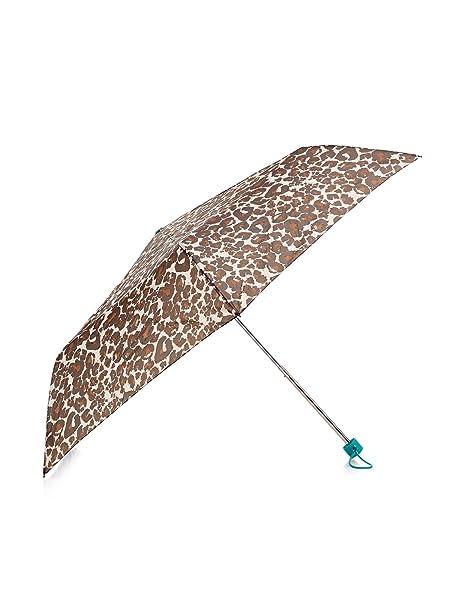 Accessorize Mujer Jade superschlanker paraguas con leopardo marrón: Amazon.es: Ropa y accesorios