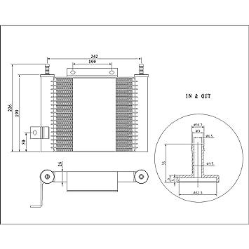 Transmisión automática de temperatura de aceite Asamblea para Ford Explorer, Ranger