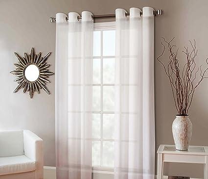 window curtain sizes org gorgeoushomelinen rubydifferent colors sizes pc sheer window curtain drape panels amazoncom