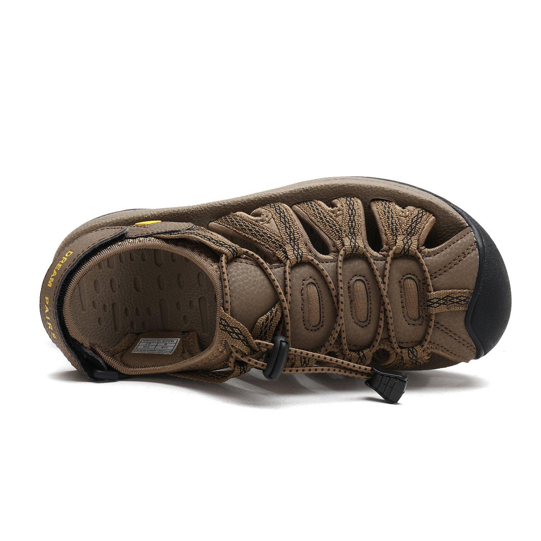 DREAM PAIRS Outdoor Women's 160912-W Adventurous Summer Outdoor PAIRS Sandals B077GCL2W3 7 B(M) US Khaki Yellow b1ec5e