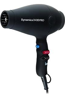 Diva Professional Dynamica 3400 Pro - Secador ultra ligero, de alta potencia, color negro