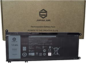 JIAZIJIA V1P4C Laptop Battery Compatible with Dell Chromebook 13 3380 Inspiron Chromebook 7486 Series Notebook VIP4C FMXMT 0FMXMT Black 7.6V 56Wh 7000mAh 4-Cell