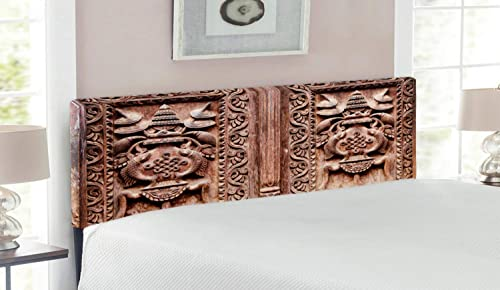 Lunarable Rustic Headboard