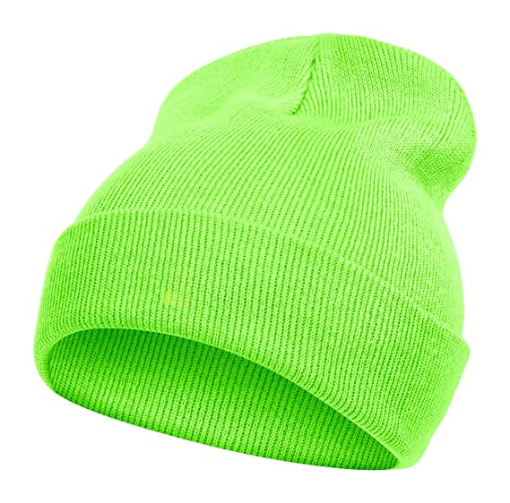 TopHeadwear Solid Color Long Beanie 880320a03ab