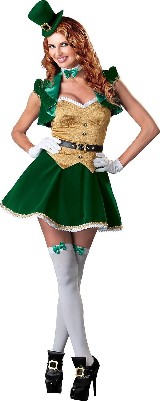 Women's Lucky Lass Costume