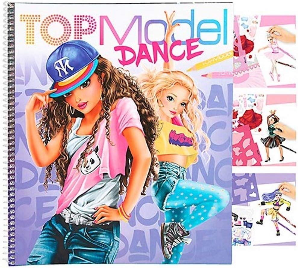 TOPModel Album coloriage et cr/éation Dance
