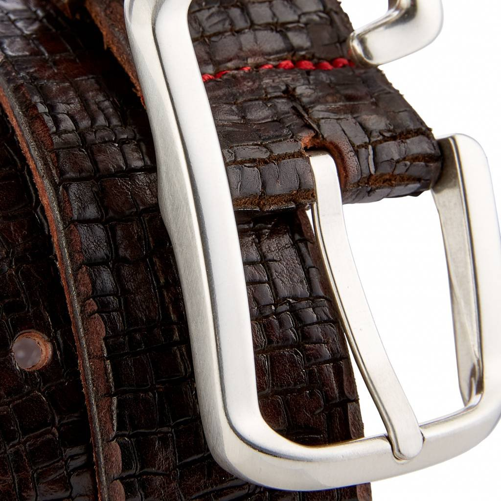 Gut Instinkt - Handcrafted Luxury Italian Leather Belt - LAMUT at Amazon Mens Clothing store: