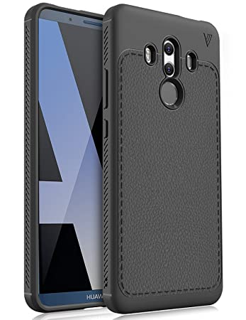 premium selection b326d 7972e Huawei Mate 10 Pro Case, KuGi [Hexagon Lines] TPU Ultra Slim Back Case,  Shock Absorbing Bumper Protective Case Cover for Huawei Mate 10 Pro  Smartphone ...