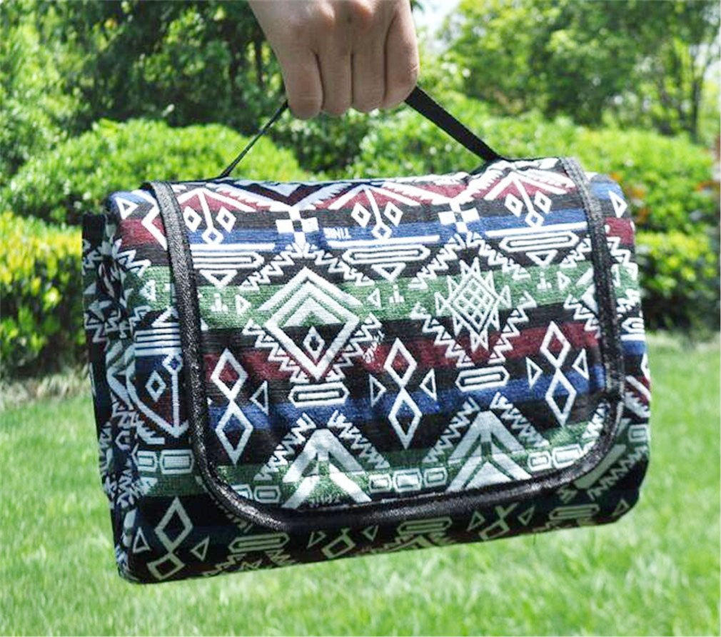 NUO-Z Tote 250 X 150 Cm Picnic Blanket Backing Impermeabile Outdoor Beach