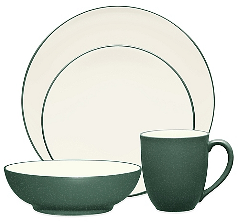Noritake® Colorwave Coupe Dinnerware Collection in Spruce - BedBathandBeyon​d.com