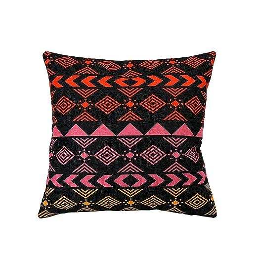 Nacnic Funda de cojin Estampado geométrico: Amazon.es: Hogar