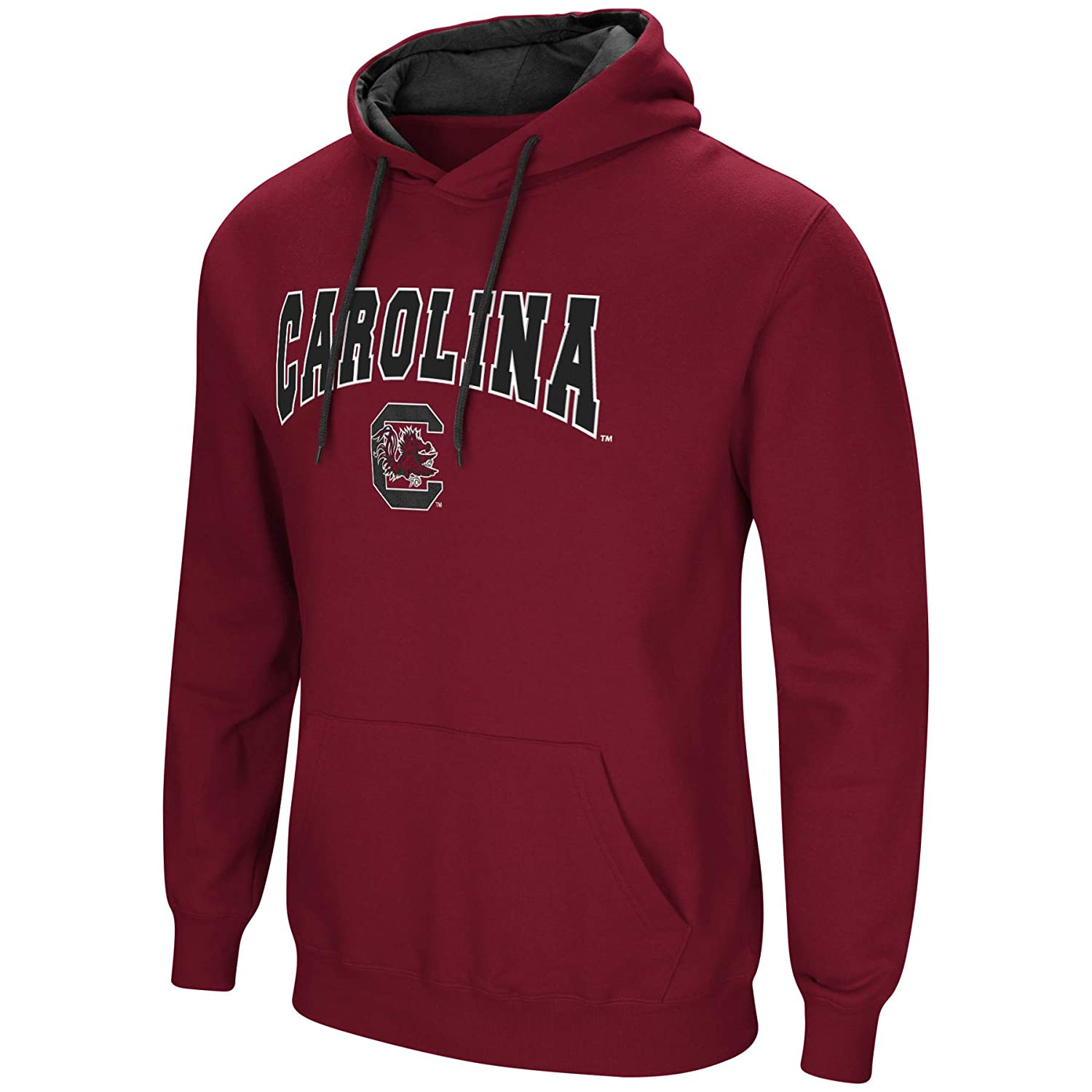 b56e2281 Amazon.com : Colosseum NCAA Men's-Cold Streak-Dual Blend-Fleece Hoodie  Pullover Sweatshirt with Tackle Twill Embroidered Team Name and Logo-Team  Colors : ...