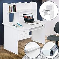 Infantastic–Kinder-Schreibtisch mit Zwei Schubladen und portateclado (weiß)