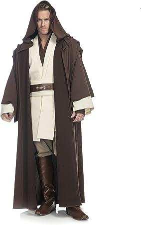 Star Wars Costume Obi Wan Kenobi Light Brown Jedi Robe Film Set Quality from UK
