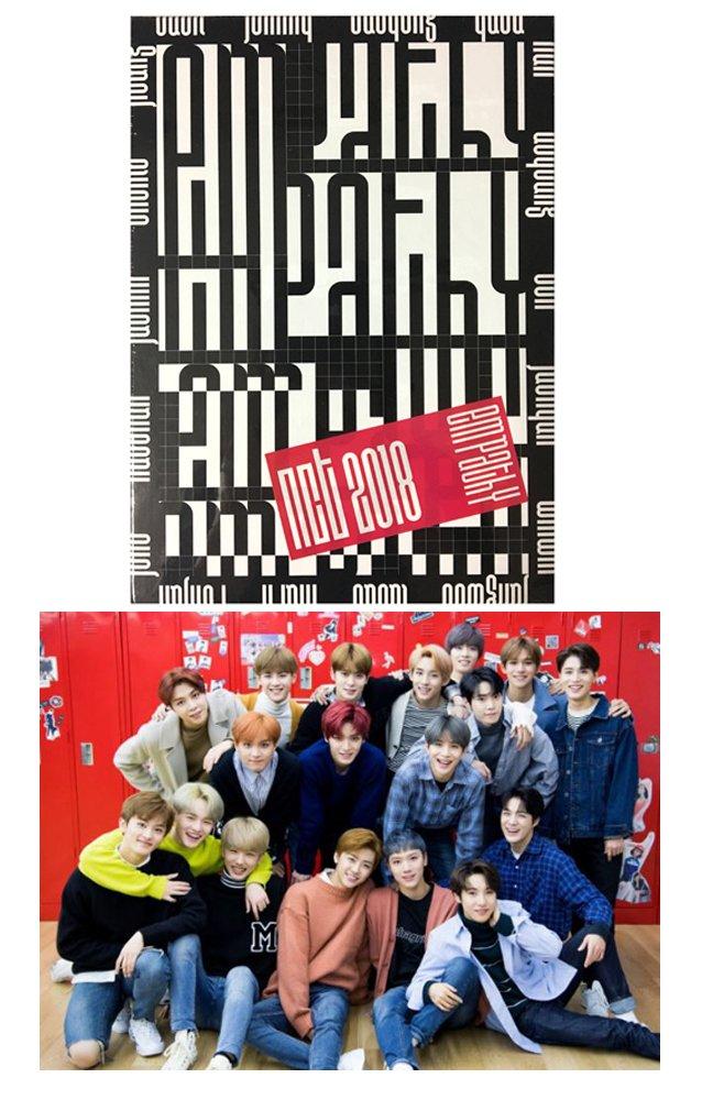 [REALITY Ver ] NCT 2018 EMPATHY KPOP ALBUM CD + Photo Book + Photo Card +  Diary + Lyrics + Free Gift
