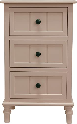D cor Therapy Simplify Three Drawer Accent Table