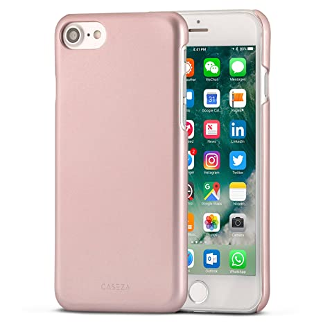 iphone 8 coque rose doré
