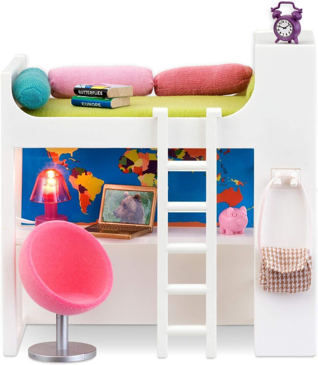 Amazon.es: Lundby 60.2084.00 - Sitio de la Cama, Mini muñecas con ...