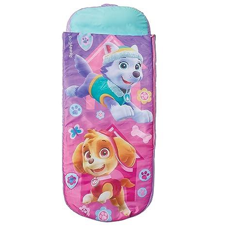 ReadyBed Paw Patrol, Cama de Aire Inflable con Saco de Dormir para para Niños,