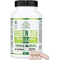 Té verde con cola de caballo y cafeína para eliminar la grasa acumulada - Adelgazante que contribuye a acelerar el…