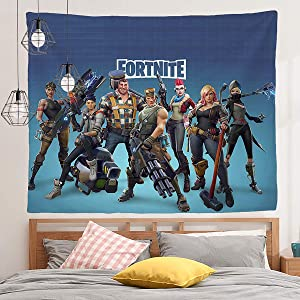 Wall Tapestry Game Theme Party Supplies Decorations Photography Backdrop Bed Cover Beach Mat Picnic Blanket Dorm Wall Decor(130 150 blue)