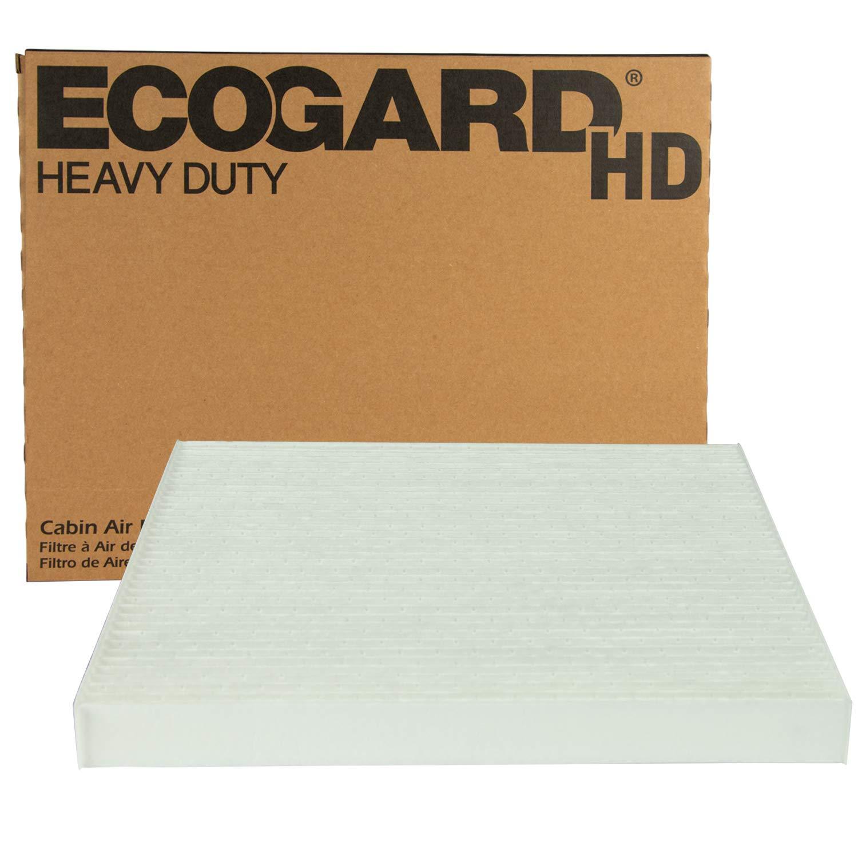 ECOGARD XC10606HD Premium Heavy Duty Truck Cabin Air Filter (10-5/8'' x 10-5/8'' x 1'') Fits 2007-2017 Freightliner: Cascadia, Century Class, Columbia, Coronado by EcoGard