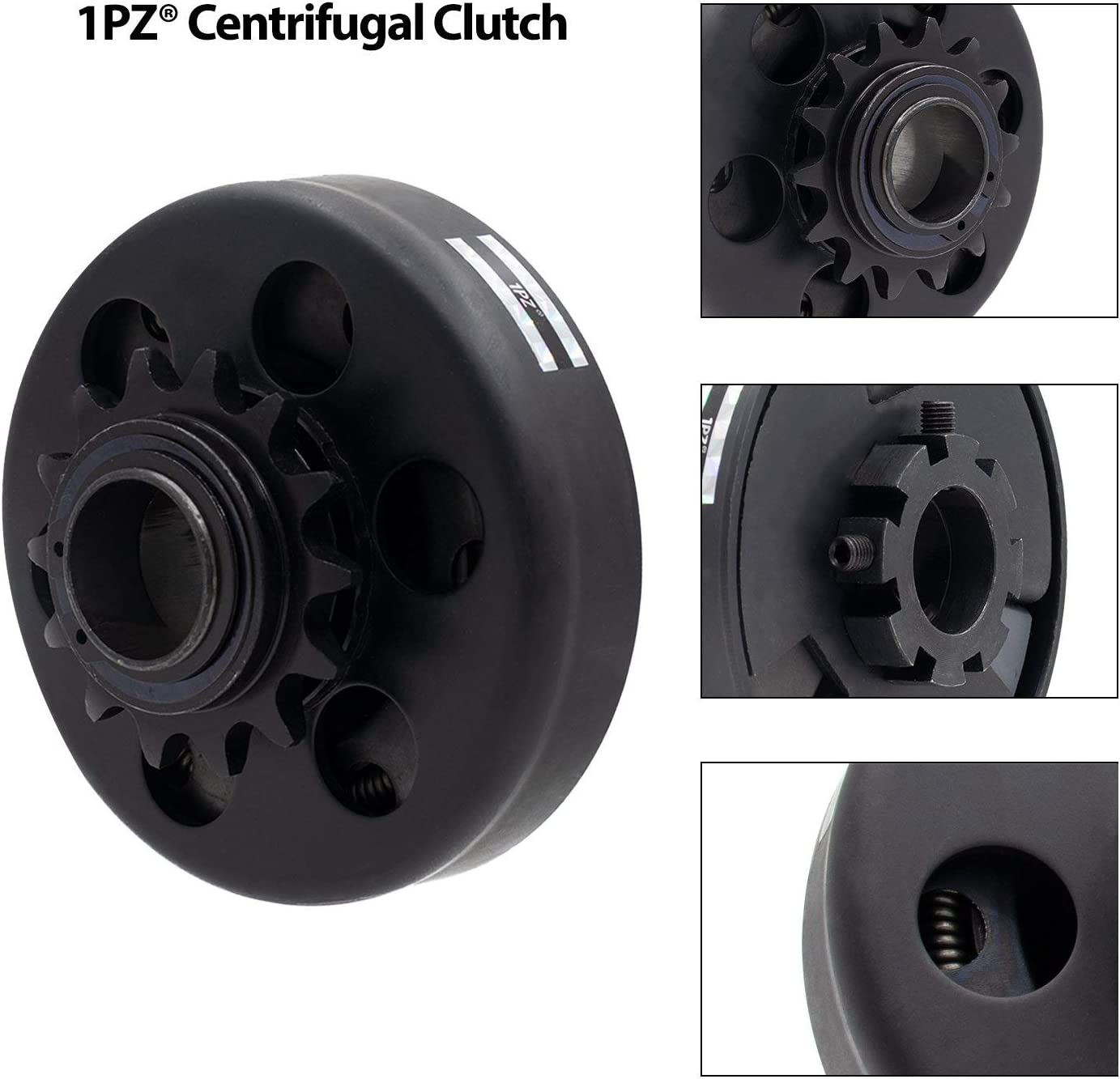 1PZ CA1-14T Centrifugal Clutch 1 Bore 14 Tooth #40//41//420 Chain for Mini Bike Engine