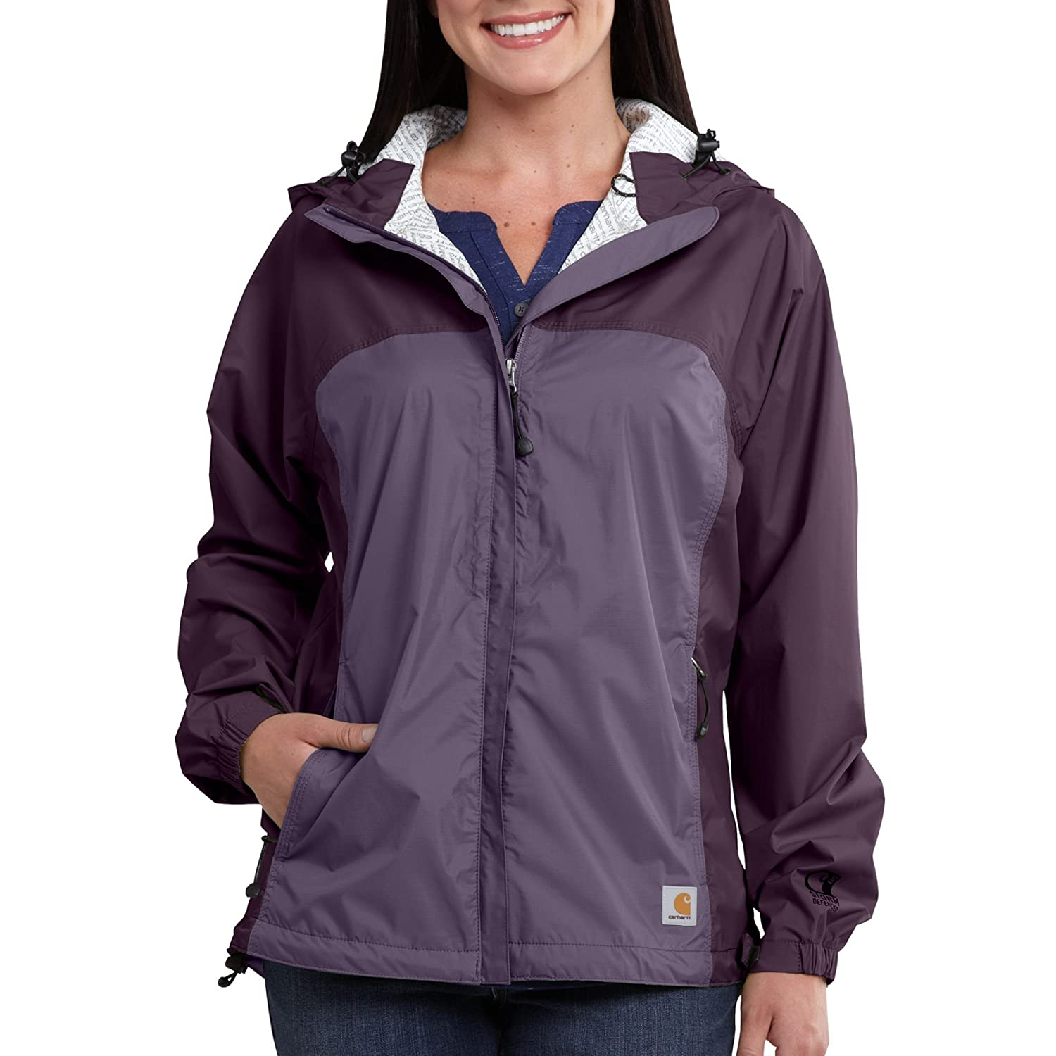 Carhartt Mujer Mountrail Impermeable Transpirable Cremallera ...