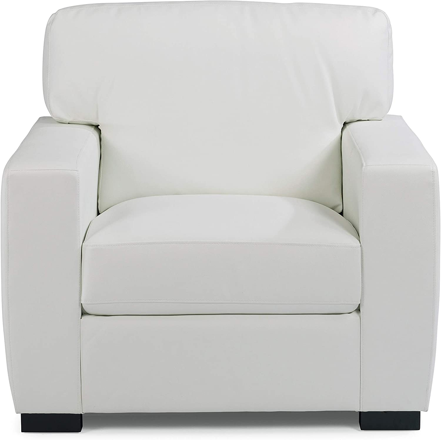 Erin Ivory Upholstered Contemporary Chair by Home Styles