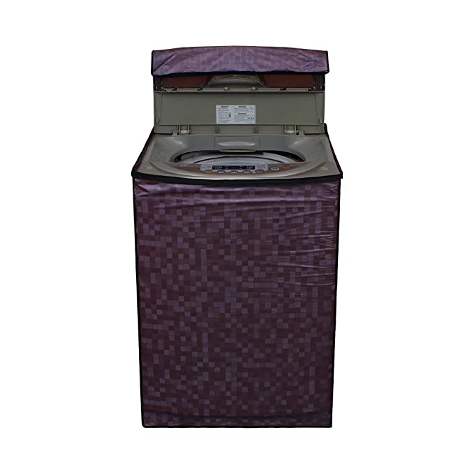 Glassiano Washing Machine Cover for Whirlpool STAINWASH DEEP Clean Fully Automatic Top Load 6.5 Kg