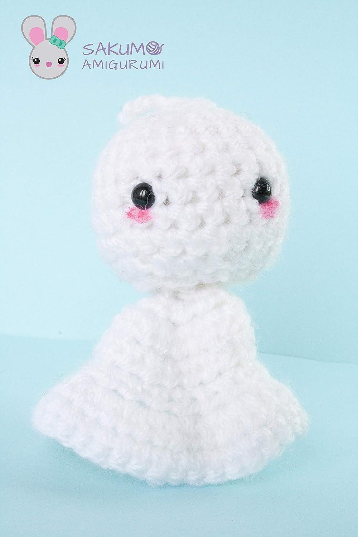 Amigurumi Halloween Ghost in Dress Free Pattern – Amigurumi Free ... | 1500x1000