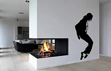 Michael Jackson Giant Wall Art Pop Image, Bedroom Vinyl Sticker Iconic,  Extra Large   Part 47
