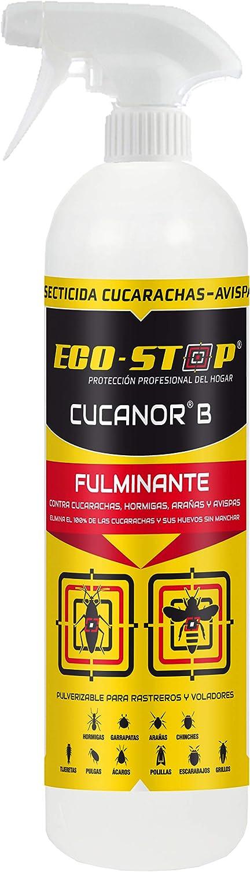 Bacterisan Cucanor B 750Ml | Spray Insecticida Frente A Todo Tipo Insectos Como Cucarachas, Avispas, Hormigas |Acción Fulminante Frente A Insectos ...