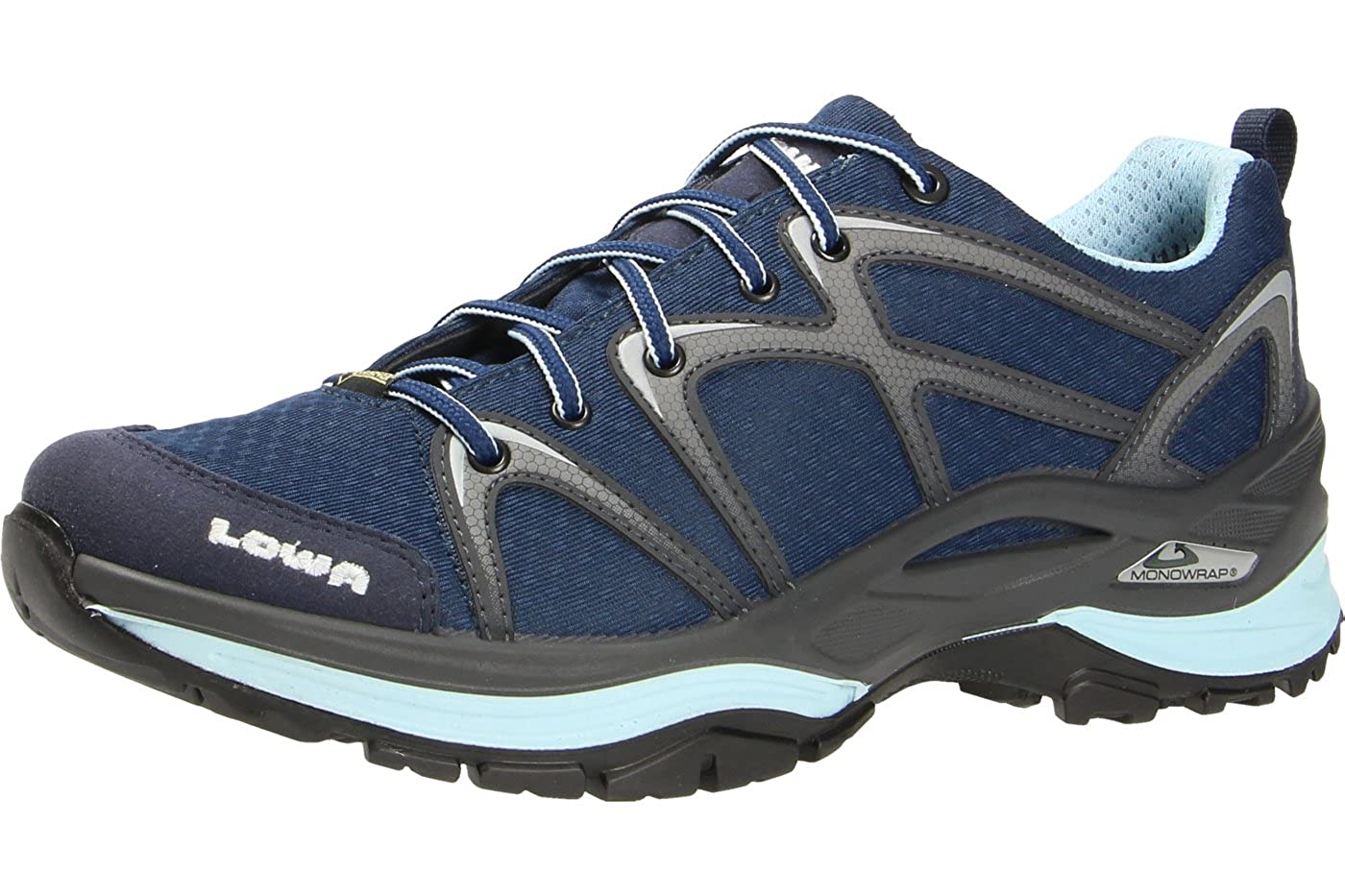Donne LOWA blu INNOX GTX® LO Ws Trainer 37 38 39 40 4142 320606-6917 marina