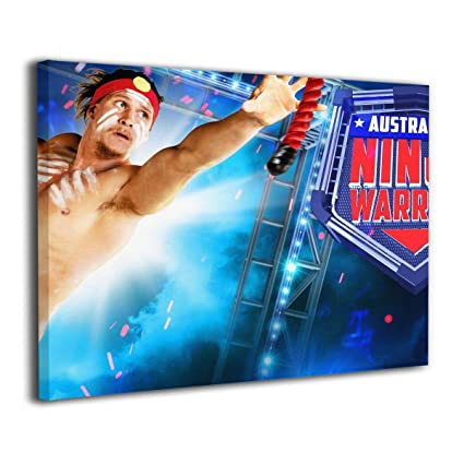 Amazon.com: American Ninja Warrior - Giclee Wall Art 3D ...