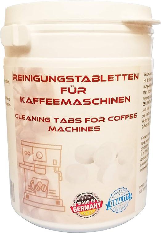 100 pastillas de limpieza para cafeteras automáticas compatibles con Jura 62715, 62535, SiemensTM TZ80001N, TZ80002N Krups XS3000 Bosch 310575, TCZ6001 Melitta 178599: Amazon.es: Hogar