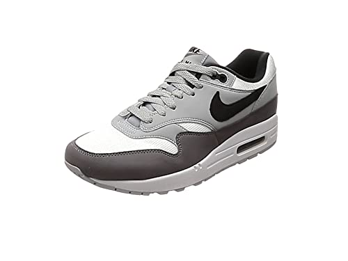 save off 5ba44 5d3bd Nike Men s Air Max 1 Fitness Shoes, Multicoloured (White Black Wolf Grey