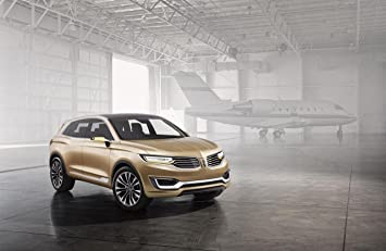 Amazoncom Lincoln Mkx Concept 2014 Car Art Poster Print On 10