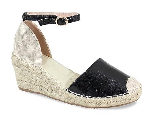 b4e4c43d90be7 By Shoes Espadrille à Plateforme - Femme  Amazon.fr  Chaussures et Sacs