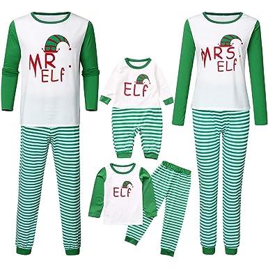 Harpily Pijama Familia Navidad Niño Chándal Familia Vestidos con ...