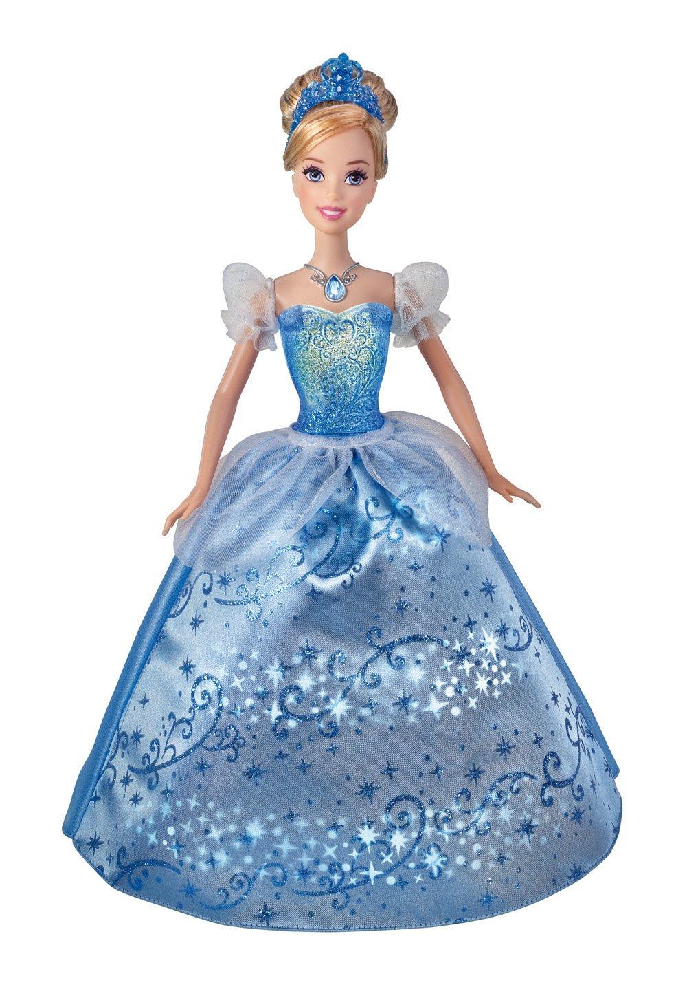 Amazon.com: Disney Princess Swirling Lights Cinderella Doll: Toys ...