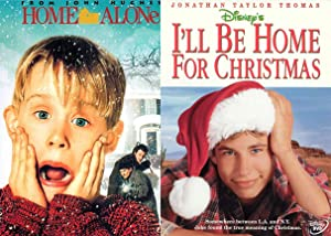 Alone & Home At Christmas I'll Be Home For Christmas Disney DVD + Home Alone Double Feature Movie